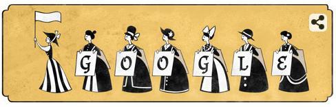 Pankhurst Google Doodle