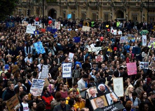 EU protest