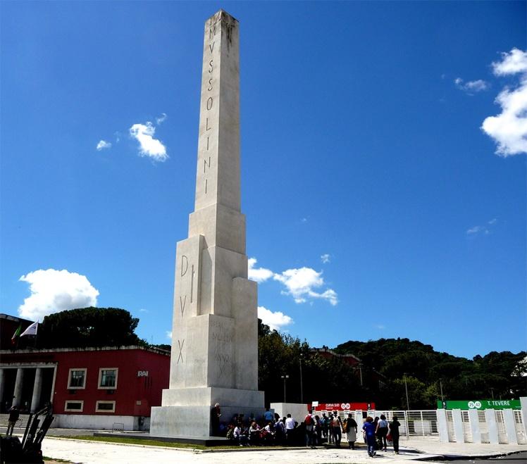 Mussolini Obelisk